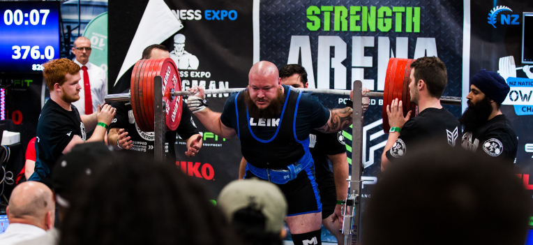 NZ Powerlifting Record Breakers - NZ Fitness & Health Expo